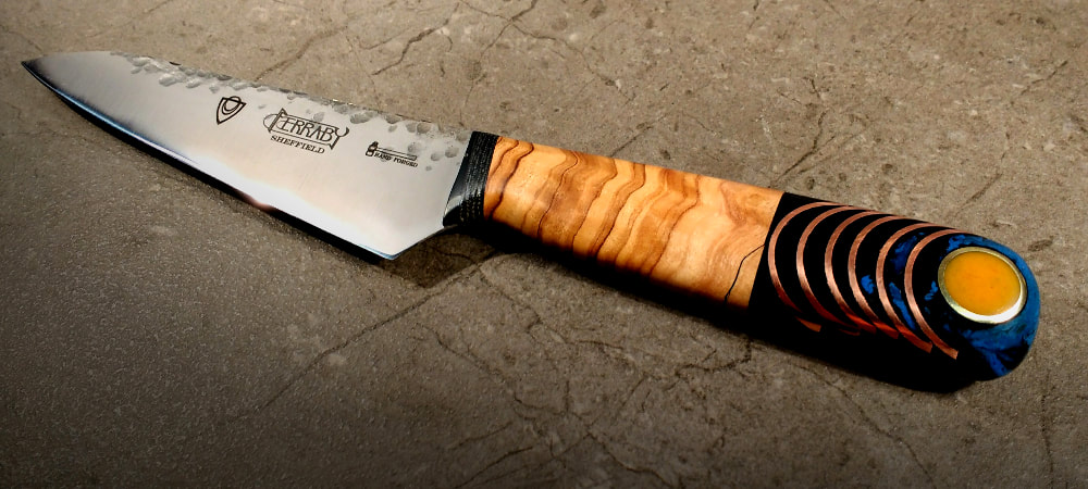 Handcrafted kitchen knife - 4