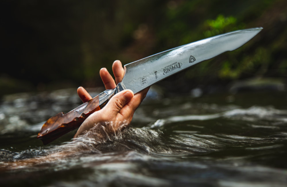 Best handmade kitchen knives, handforged in Sheffield